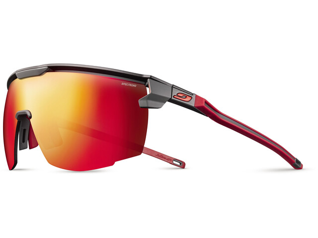 Julbo Ultimate Spectron 3 Sunglasses, black/red